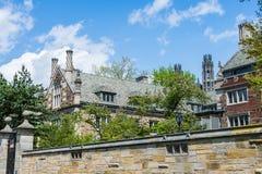 Йельский университет в New Haven Коннектикуте Стоковое Изображение