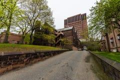 Йельский университет в New Haven Коннектикуте Стоковые Фотографии RF
