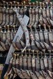 Йеменское janbiya, традиционный кинжал Йемена Стоковое Изображение RF