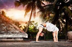 Йога в Индии Стоковые Фотографии RF