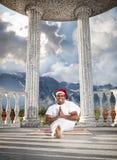 йога горы рождества стоковые изображения