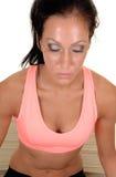йога девушки ослабляя Стоковая Фотография RF