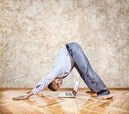 Йога дела стоковые фотографии rf