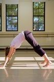 йога женщины Стоковое Изображение RF