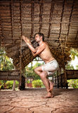 йога Индии Стоковые Фото
