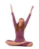 йога практики Стоковое Изображение RF