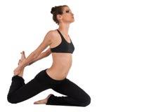 йога представления вихруна короля девушки Стоковые Изображения