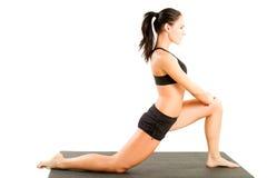 йога представления девушки Стоковое фото RF