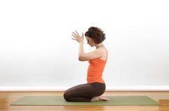 йога представления Стоковое фото RF