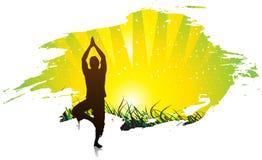йога предпосылки Стоковые Фото