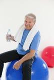 йога пригодности Стоковое Изображение RF
