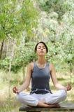 йога раздумья Стоковое Изображение RF