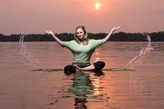 йога типа Стоковое Фото
