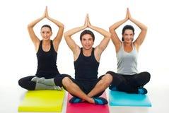 йога типа Стоковые Изображения