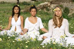 йога типа Стоковое Изображение