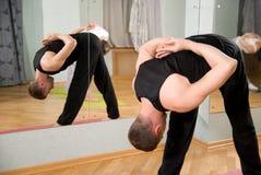йога тренера Стоковая Фотография RF