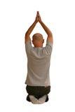 йога человека Стоковые Фото