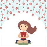 Йога для души, тела и разума Стоковое фото RF