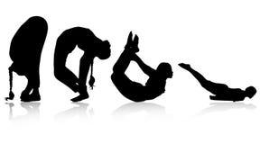 йога иллюстрация вектора