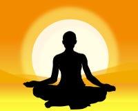 йога Стоковые Фотографии RF