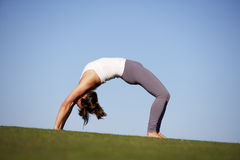 йога 4 Стоковое Фото