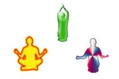 йога Стоковые Фото