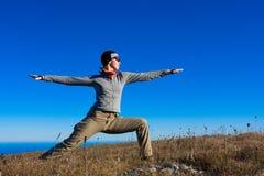 йога стоковая фотография rf