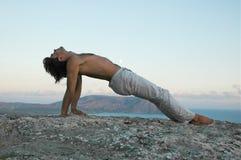 йога hatha Стоковые Изображения