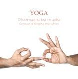 йога mudra dharmachakra Стоковое Фото