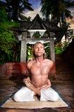 йога padmasana baddha стоковые изображения rf