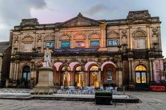 Йорк, Великобритания - 11/18/2017: Художественная галерея Йорка от для Стоковое Изображение RF