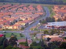 Йоханнесбург, Южная Африка - 16-ое декабря 2008: Городская жизнь Стоковое Изображение RF