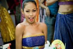 Кабаре транссексуал Alcazar в Таиланде стоковое фото rf