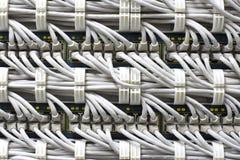 кабели предпосылки Стоковые Изображения RF