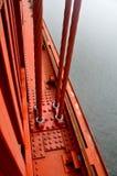 кабели стробируют золотистое Стоковая Фотография RF