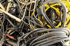 Кабели электротехнического оборудования стоковое изображение rf