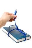 кабельная сеть книги Стоковые Фото