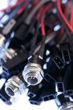 кабельные соединители электронные Стоковое Фото