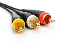кабельные соединители Стоковые Изображения RF