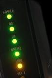 кабельный модем Стоковая Фотография RF
