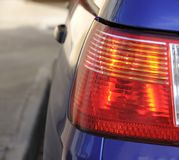 кабель автомобиля светлый Стоковая Фотография