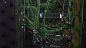 Кабель акустического аудио зеленого цвета сервера кабеля аудио Много акустических кабелей oaxial кабель для сервера передачи данн видеоматериал