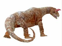Кабель динозавра Shringasaurus Стоковое Изображение