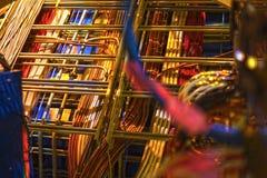 Кабель и изображение связывать проволокой стоковое изображение rf