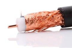 кабель коаксиальный Стоковое Изображение