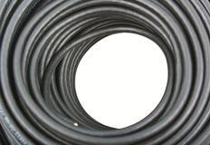 кабель с черной пропиткой коаксиальный Стоковые Изображения RF