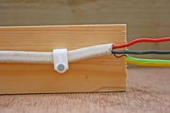 кабель электрический Стоковые Фото