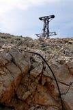 Кабел-кран остает Стоковое фото RF