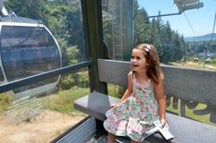 Кабел-кран гондолы горизонта в Rotorua - Новой Зеландии Стоковые Фотографии RF