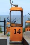 Кабел-кран кабины Стоковые Изображения